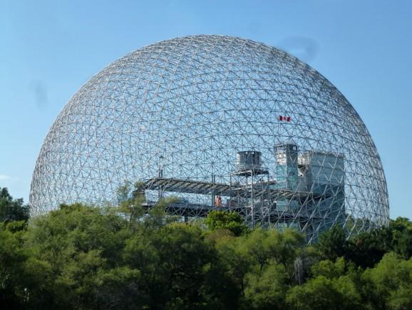 Buckminster Fuller: Biosphère, Montréal