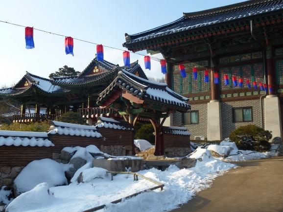 Der Bongeunsa Tempel-in Gagnam