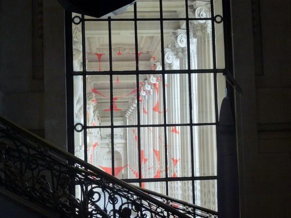 Feliche Varini at Grand Palais, Paris