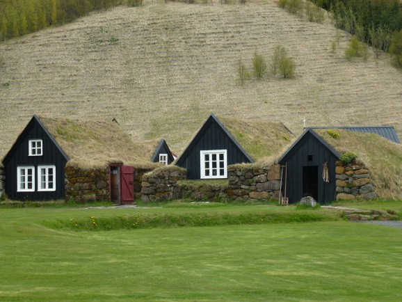Iceland ancient houses