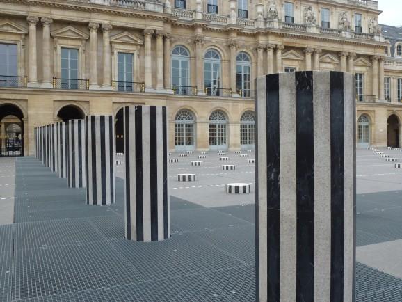 Daniel Buren, Palais Royal