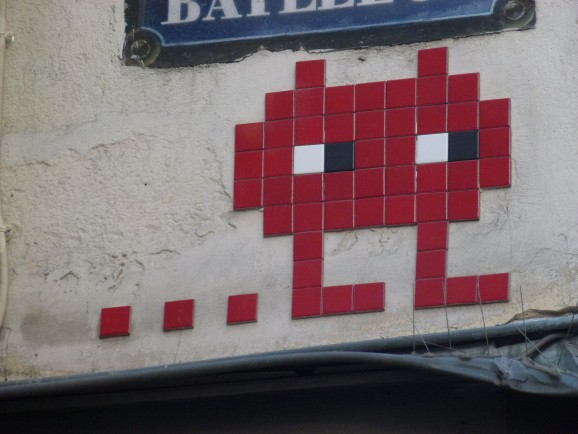 Invader, Paris