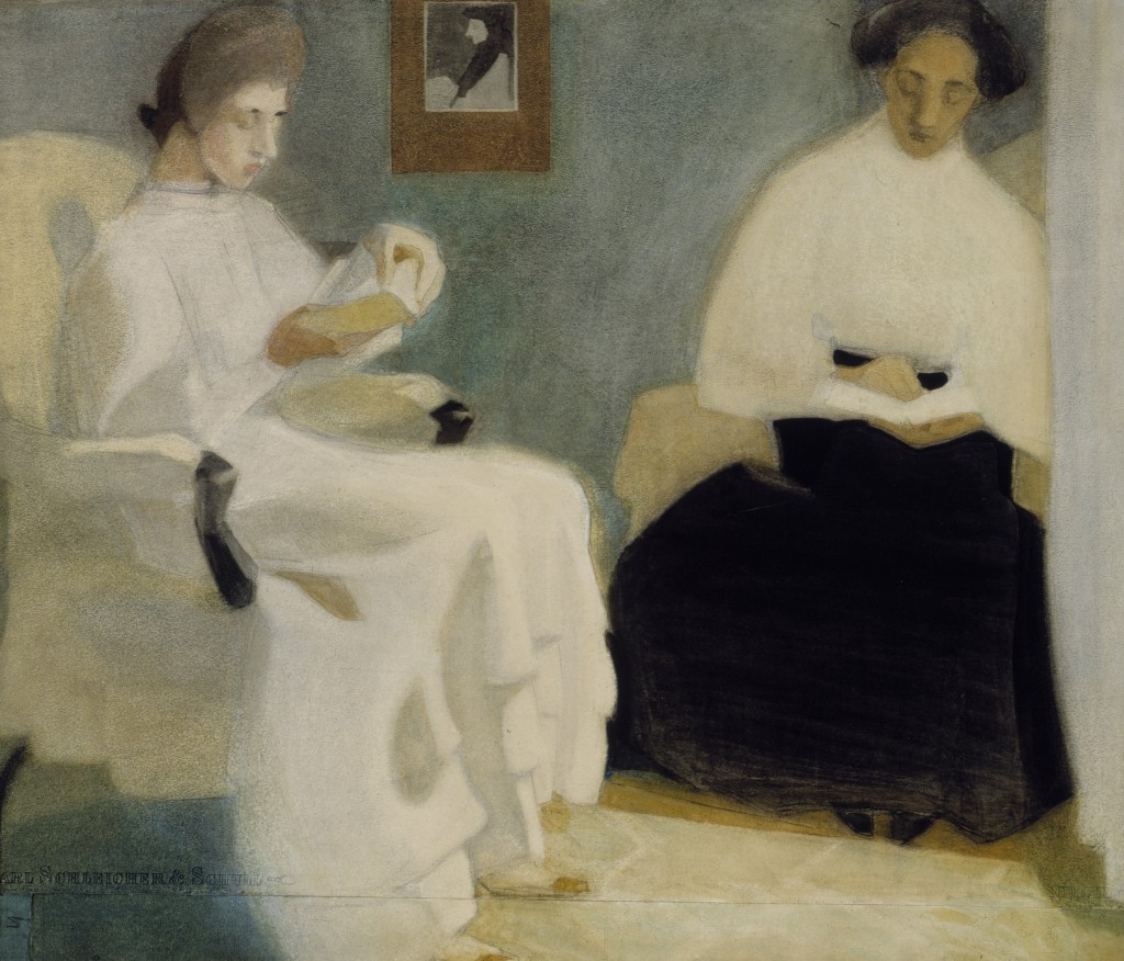 Schirn_Presse_Schjerfbeck_Girls_Reading_1907
