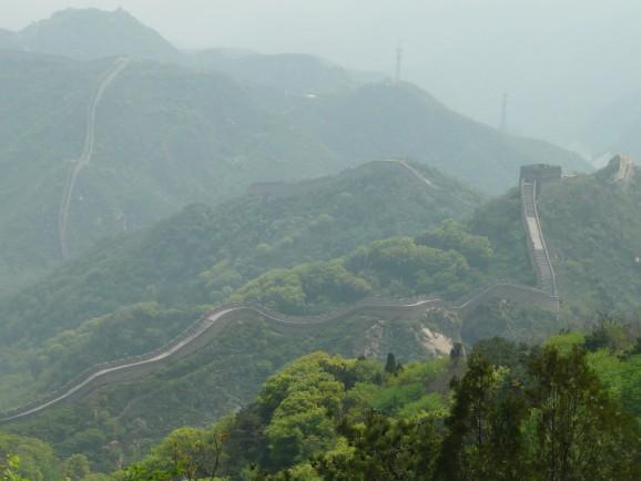 Die Chinesische Mauer bei Badaling