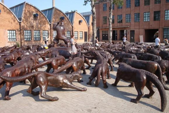 Kunstpark 798 in Peking
