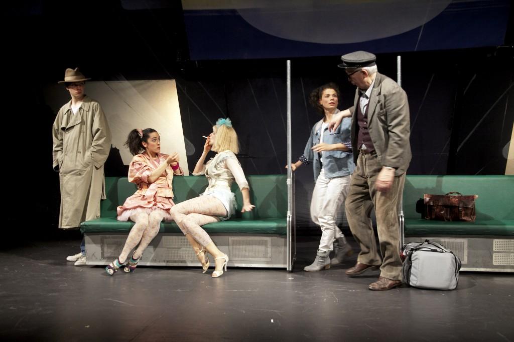 Grips Theater: Linie 1, 17. Mai 2007. Achte Umbesetzungspremiere vom 17. April 2014.