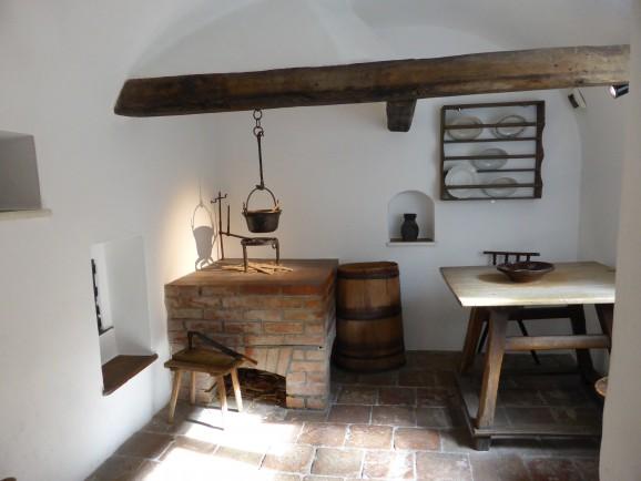 Küche in der Fuggerei