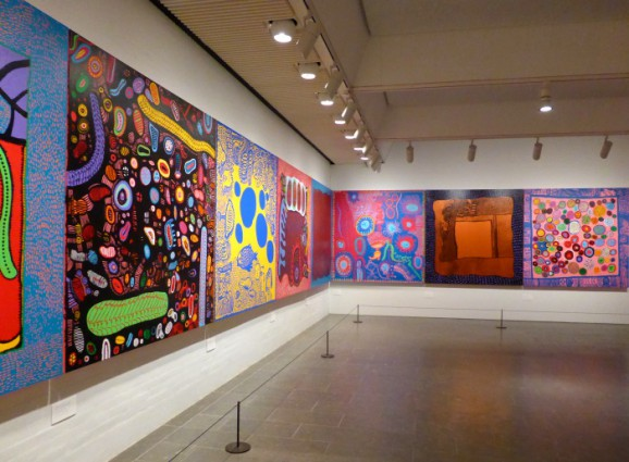 Yayoi Kusama: new paintings