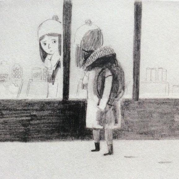 """Illustration sus der Graphic Novel """"Jane, der Fuchs und ich"""""""