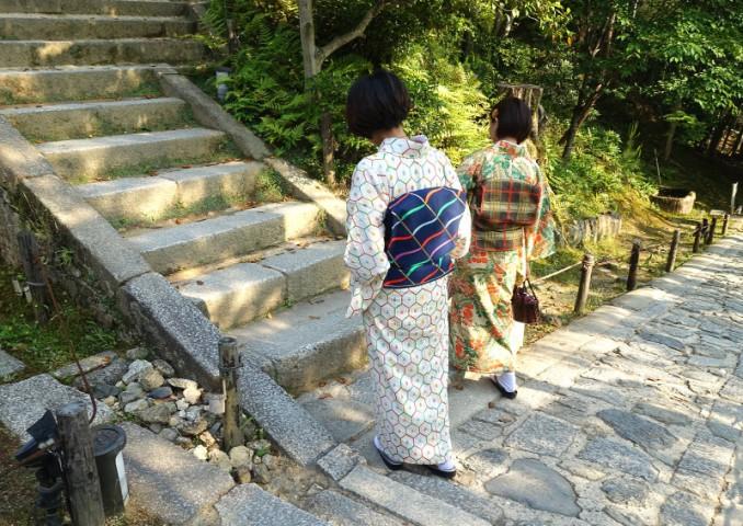 Kodai-ji and kimonos