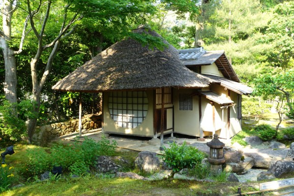 Teahouse, designed by Sen-ni-Rikyu