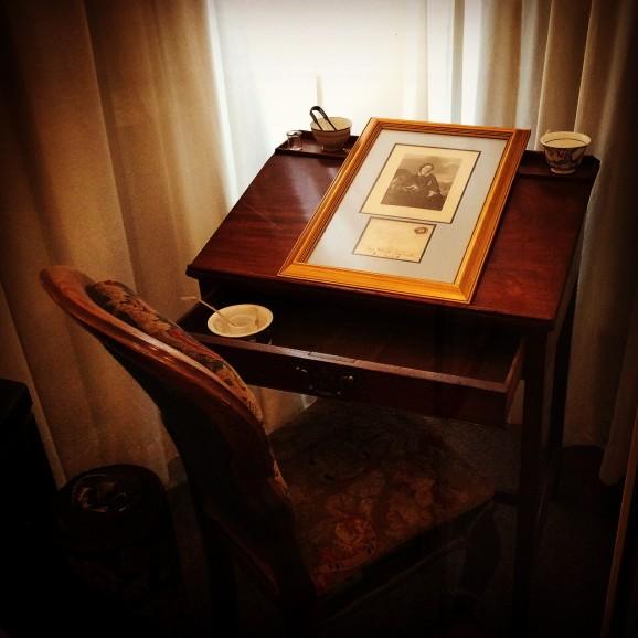 Charlotte Brontë's desk