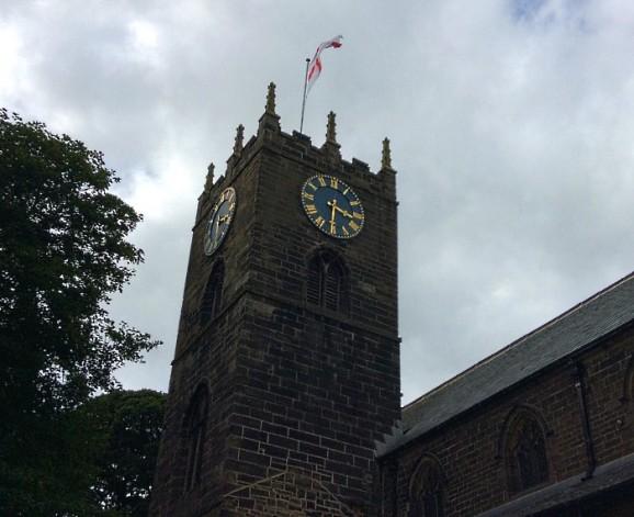 Haworth, Yorkshire, church
