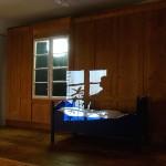 Mond-Kunst in der Villa Rot