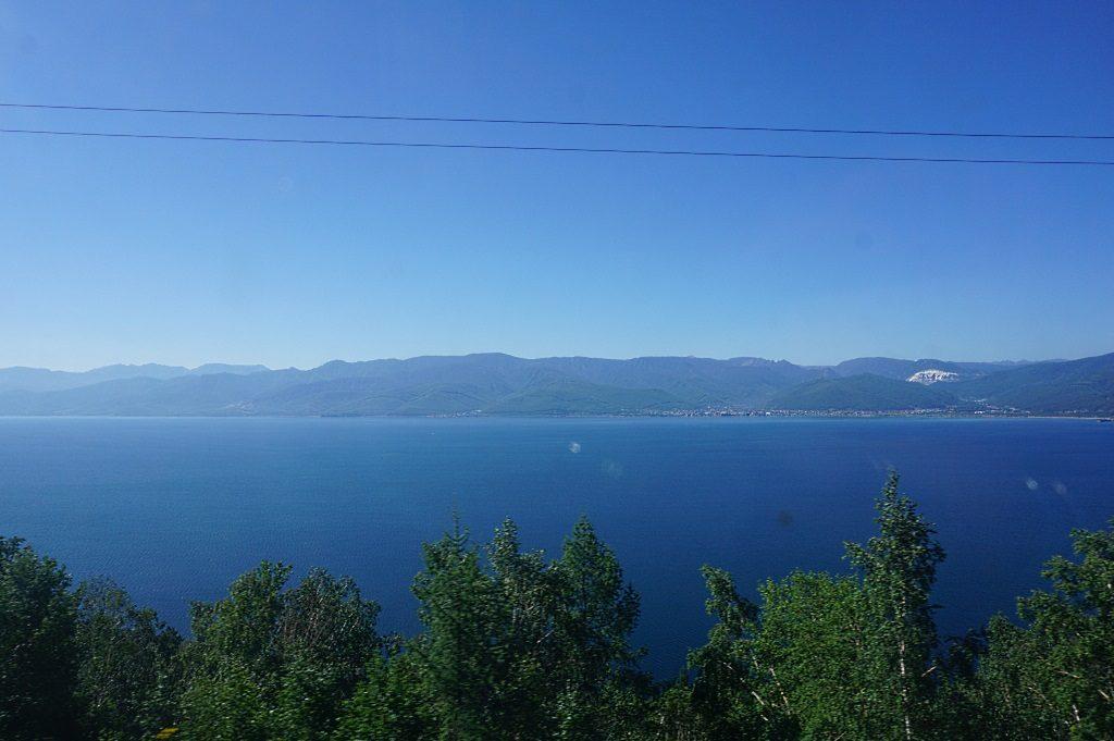 Transsibirische Eisenbahn: Baikalsee
