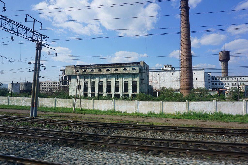 Russland Industriebrache
