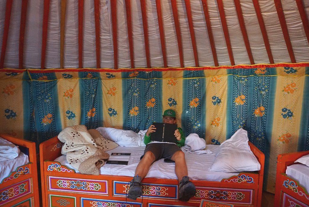 Mongolei: Jurte