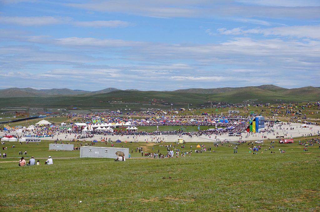Reiterfest Mongolei