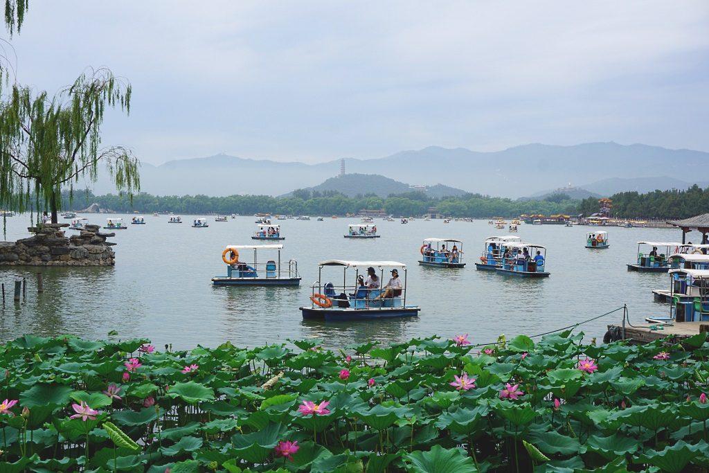 Sommerpalast Peking: See