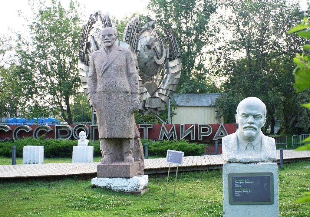 Sowjet-Statuen