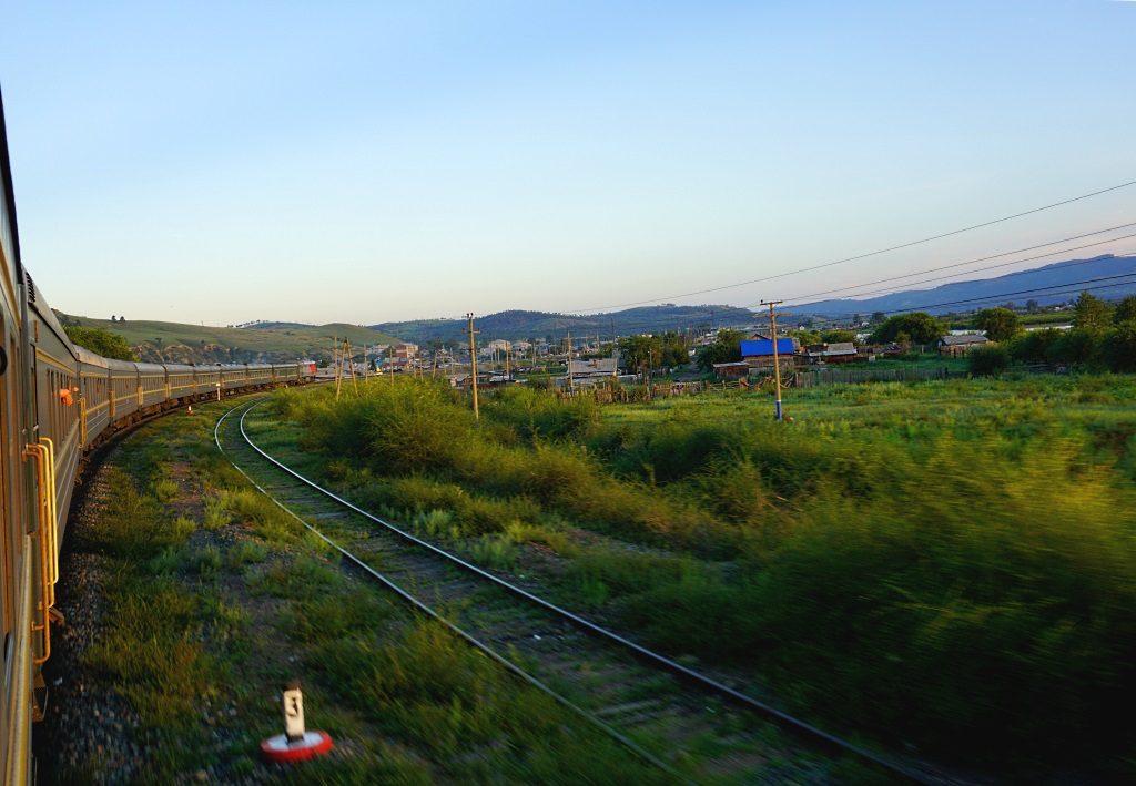 Transsibirische Eisenbahn: in Richtung Mongolei