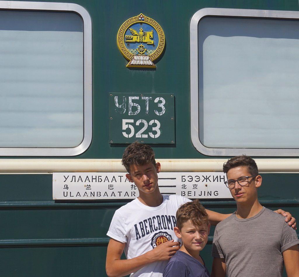 Transsibirische Eisenbahn von Ulan Bator nach Peking