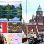 Helsinki, Sankt Petersburg, Karelien: ein Sommerpuzzle