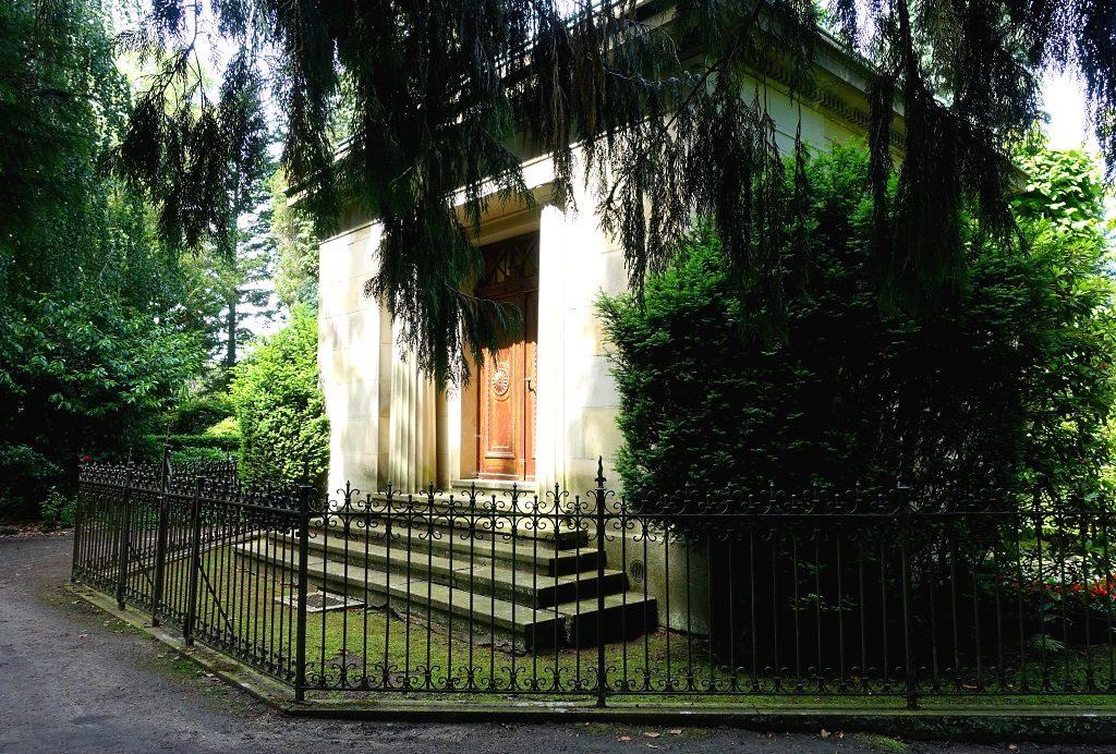 Hamburg Elbchaussee Nienstedtener Friedhof