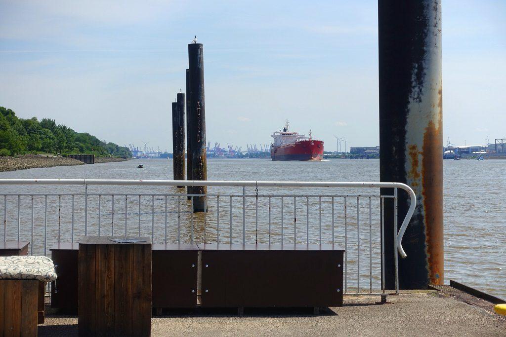 Hamburg: Blick gen Hafen
