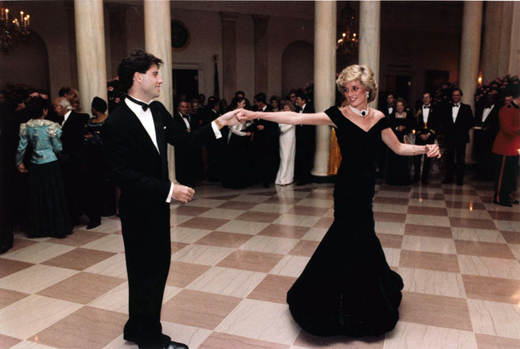 Lady Di and John Travolta