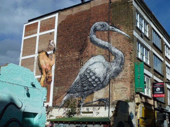 ROA Street Art London