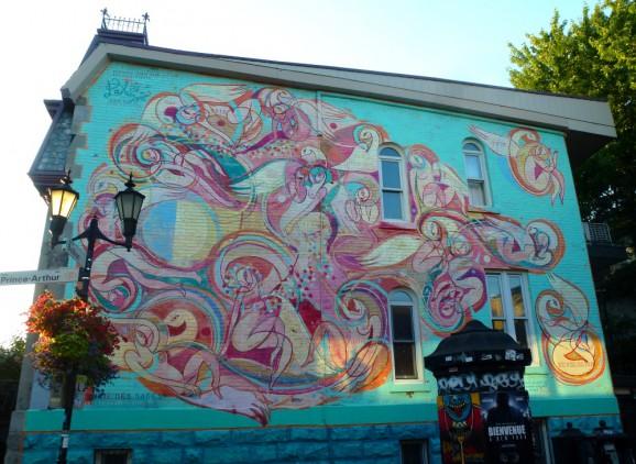 Street Art Dalceggio, Montréal