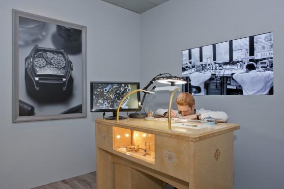 Ausstellung Patek Philippe: Uhrmacher