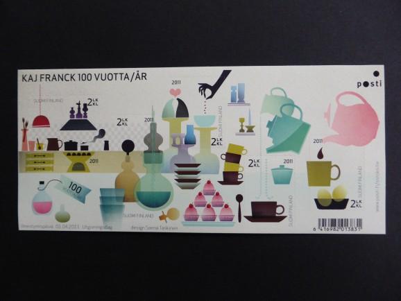 Finnish design: stamps