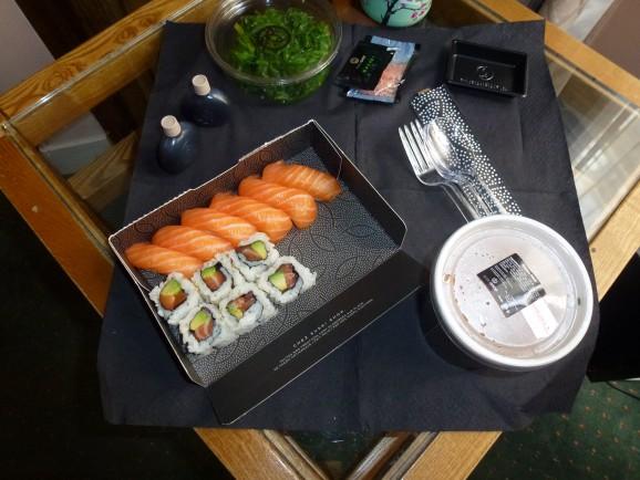 Essen in Paris mit Kindern: Sushi Shop