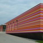 Kita-Architektur: Streifen in Fulda