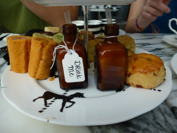 London mit Kindern: Afternoon Tea