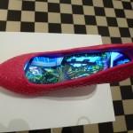 Schuh-Schau in der Villa Rot