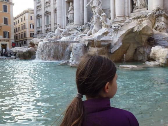 Rom mit Kindern: Fontana di Trevi