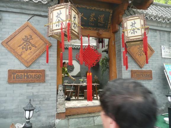 Hutong-Viertel Peking