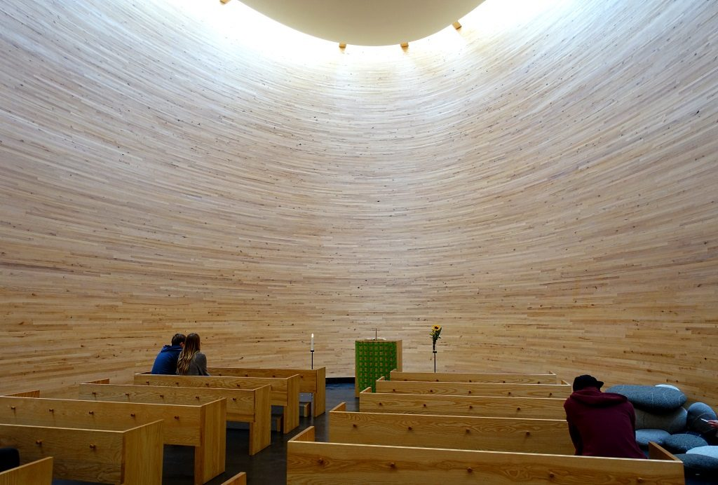 Finnische Architektur: Kamppi Chapel of Silence