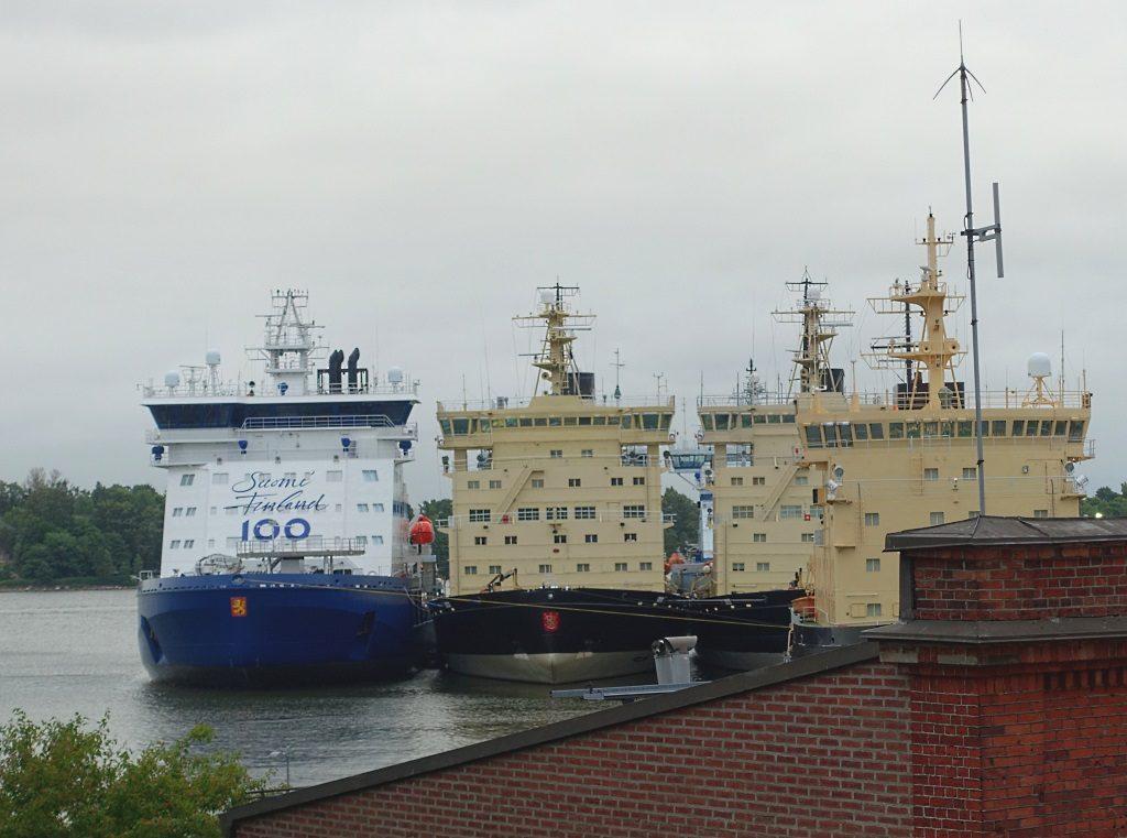 Finnische Eisbrecherflotte