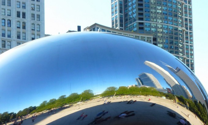 "Anish Kapoor: ""Cloud Gate"" in Chicago"