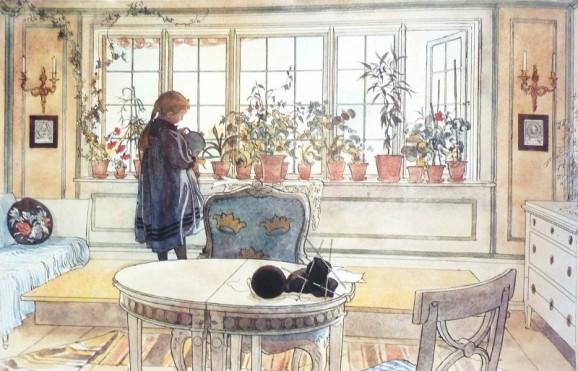 Carl-Larsson-le-fenêtre-aux-fleurs