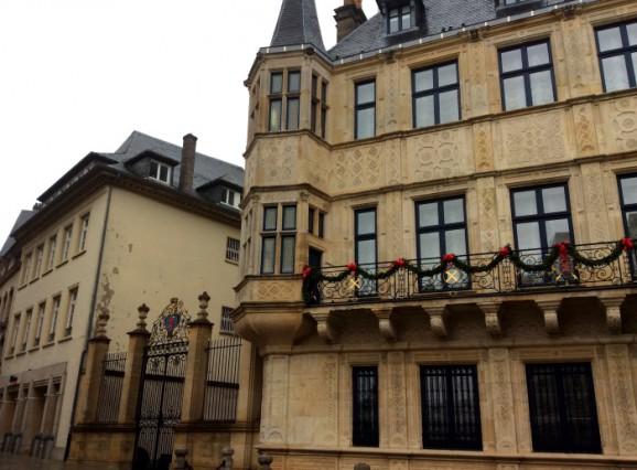 Luxemburg mit Kindern: das großherzogliche Palais