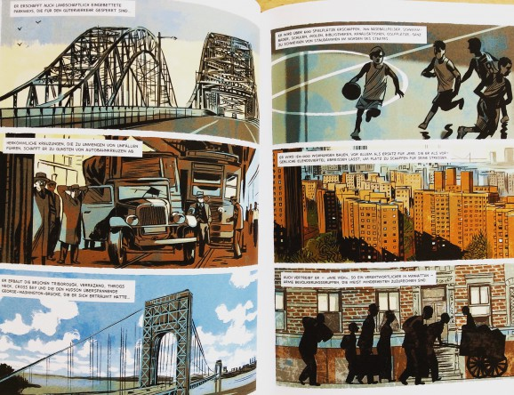 "Aus der Graphic Novel ""Robert Moses"""