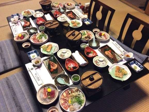 Japanese Ryokan Food