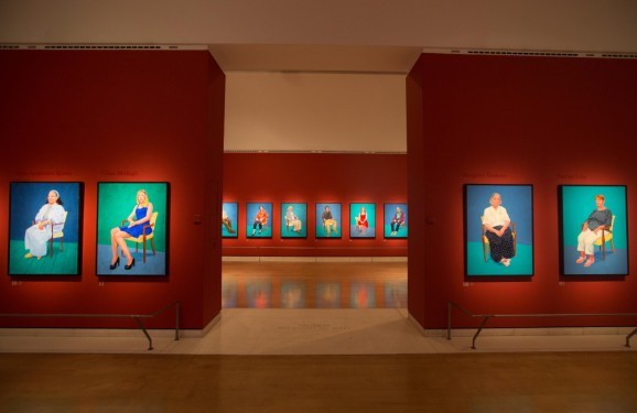 David Hockney: 82 Portraits
