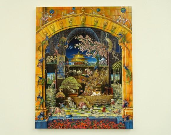 Raqib Shaw, White Cube Gallery