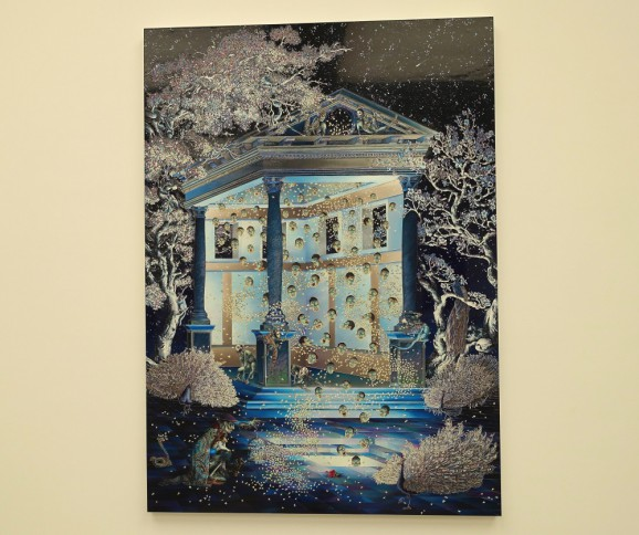Raqib Shaw London exhibition White Cube Gallery